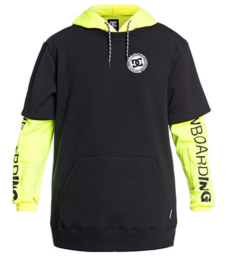 DC Shoes Dryden Hoodie Yellow