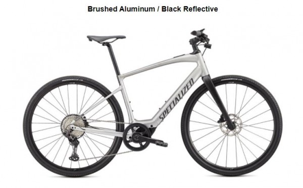 SPECIALIZED TURBO VADO SL 5.0 SILVER BRUSHED 2020/2021