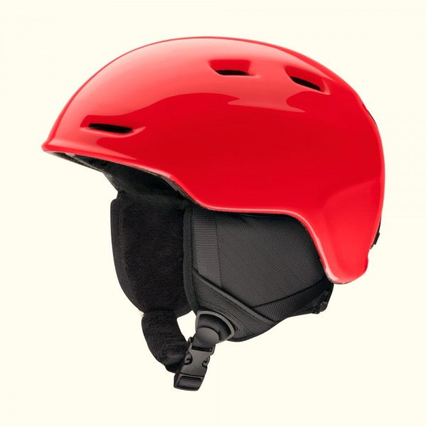 Smith Kinder Skihelm Zoom Jr. Rot