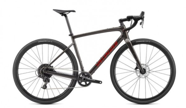 SPECIALIZED DIVERGE BASE CARBON SMOKE/REDWOOD/CHROME 2021