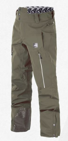 Picture Herren Hose Object army green