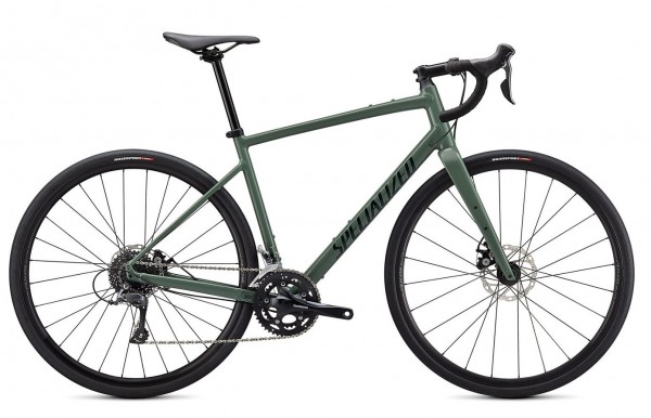 SPECILAIZED DIVERGE BASE E5 FOREST GREEN 2021
