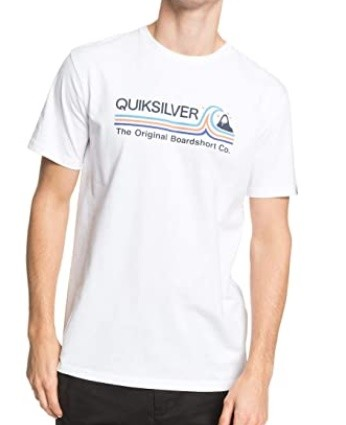 Quiksilver T-Shirt Stone Cold Classic weiß