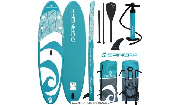 Spinera Stand Up Paddle Board Lets Paddle 10.4