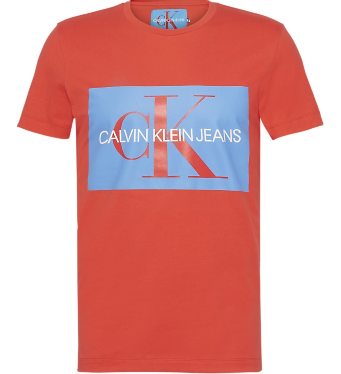 Calvin Klein T Shirt Monogram Box