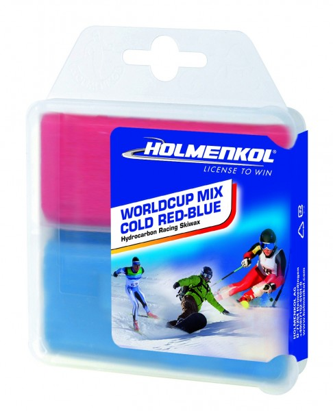 Holmenkol Worldcup Mix COLD RED-BLUE