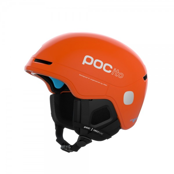 POC Kinder Ski Helm POCito Obex Spin Orange
