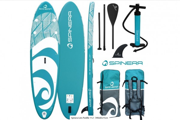Spinera Stand Up Paddle Board Lets Paddle 11.2