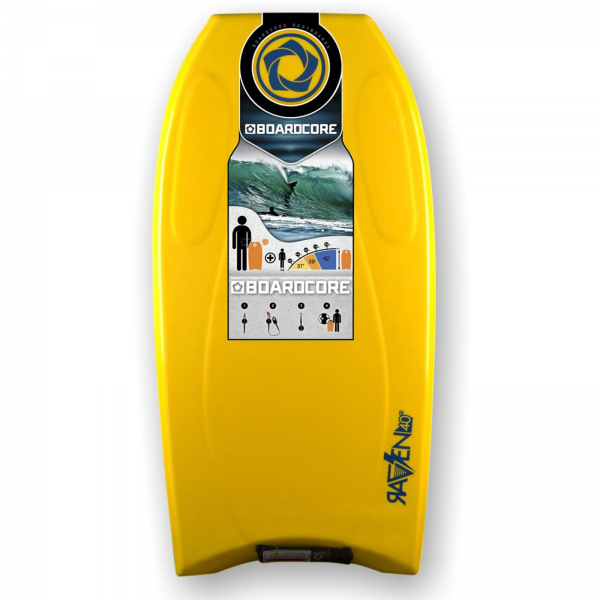 BOARDCORE Bodyboard Raven