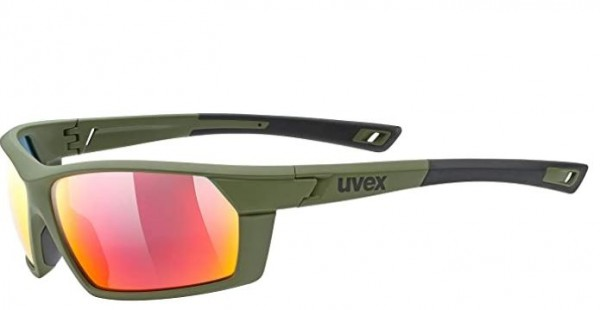 Uvex Sportbrille Sportstyle 225 rot