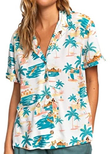 Roxy Bluse Remind To Forget blau